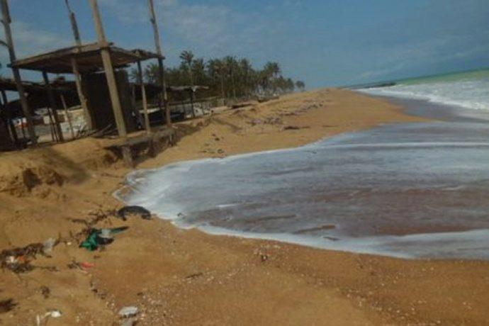 Les villageois du Togo voient leurs maisons englouties par la mer