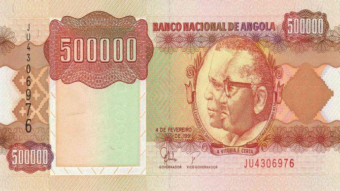 La banque nationale angolaise va proposer de nouveaux billets à partir de la fin juillet