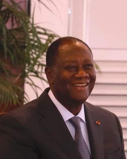 Alassane Ouattara, fraichement réélu, s'adresse à la nation ivoirienne