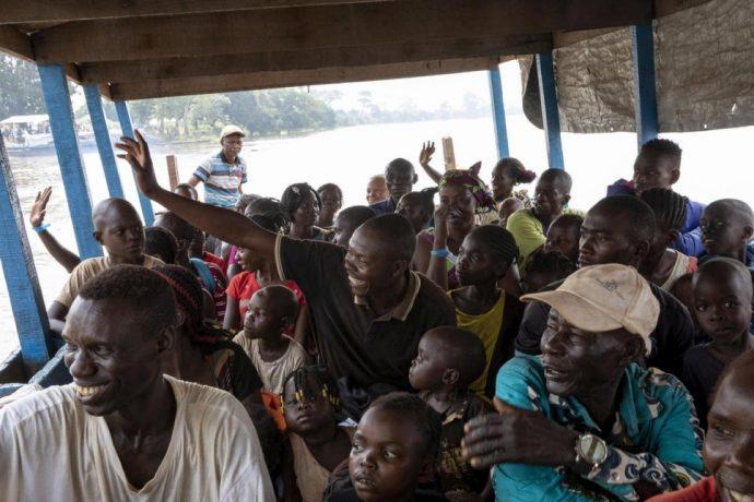 Des réfugiés centrafricains en retour d'exil depuis la République Démocratique du Congo