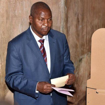 Le président de la République centrafricaine Touadera est réélu