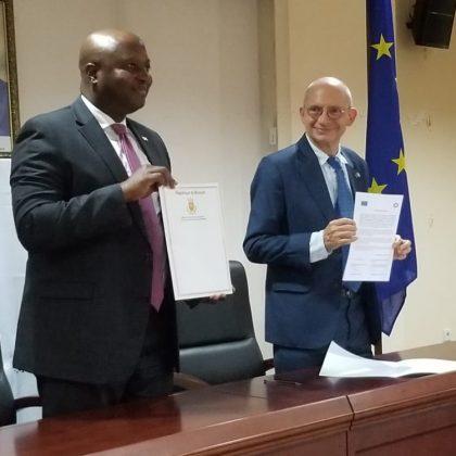 Le Burundi et l'Union européenne conviennent de travailler ensemble pour restaurer leurs relations