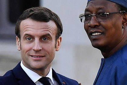 Idriss Deby, président du Tchad et allié de l'Occident contre les islamistes