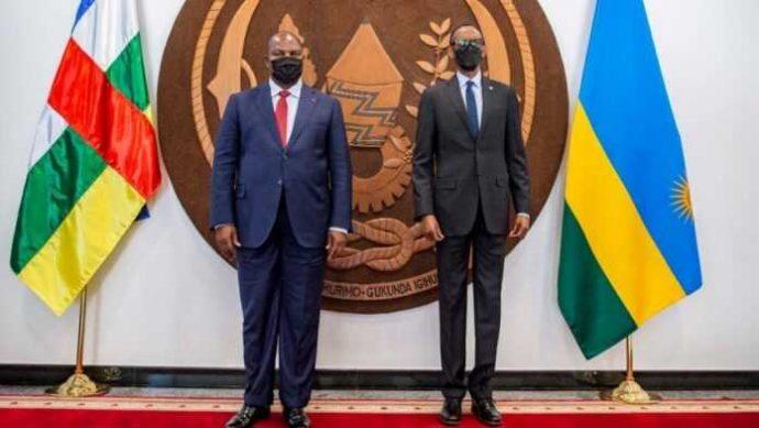 Le président de la République centrafricaine entame une visite de quatre jours au Rwanda