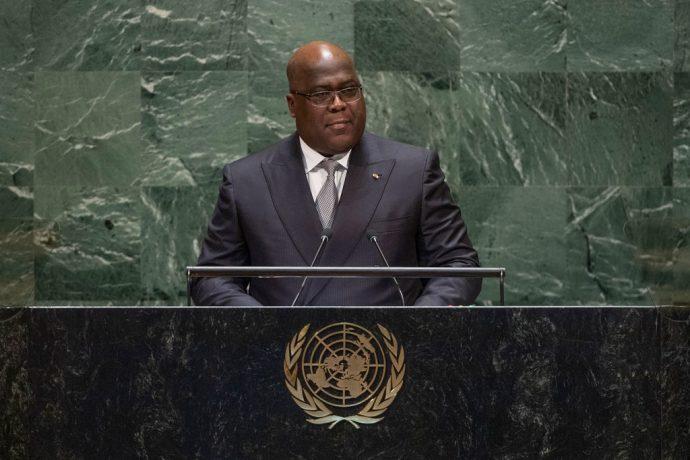 """Le président de la RDC demande la concrétisation de """"toutes les promesses faites à l'Afrique"""""""