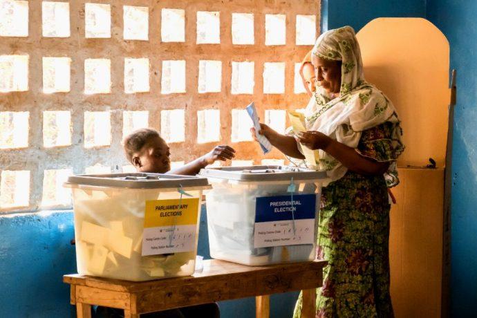 Clôture des votes du second tour de la présidentielle de Sao Tomé